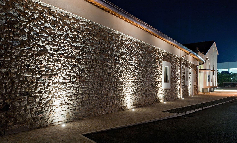 Dot Incasso Incasso - Lampade da esterno