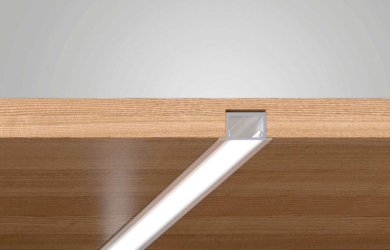 Profil 11 Incasso - Profili LED