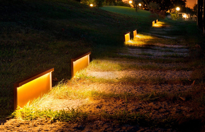 Step Line Segnapasso - Lampade da esterno