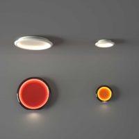 CIDI_OLEV_lamp_LED_applique_parete_soffitto_colori