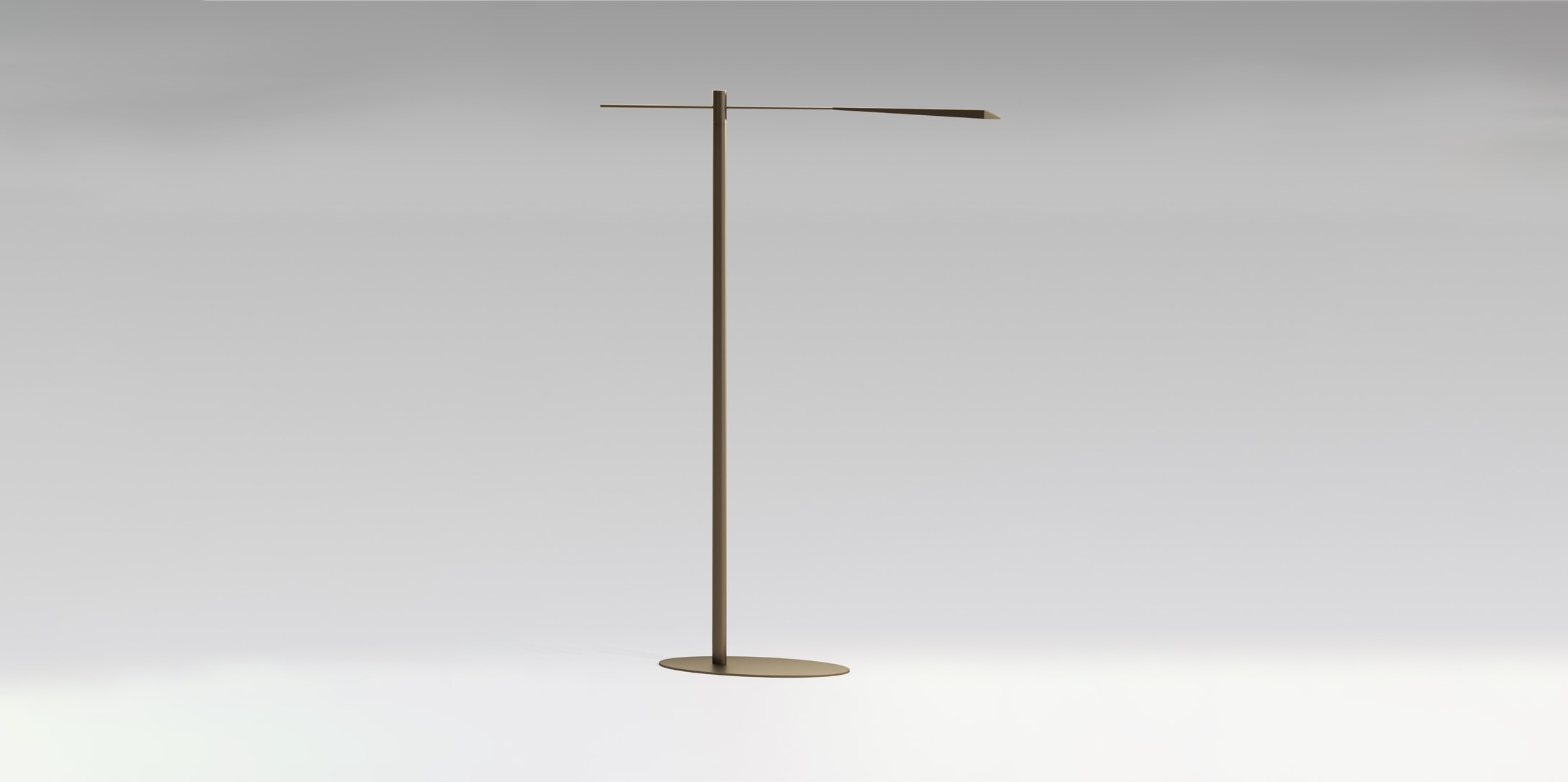 OLEV flamingo lampada terra led design marc sadler